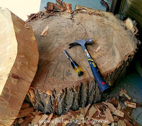 Diy Tables Large Tree Slices Wood, Diy, Home Decor, Repurposing Upcycling,  Rustic