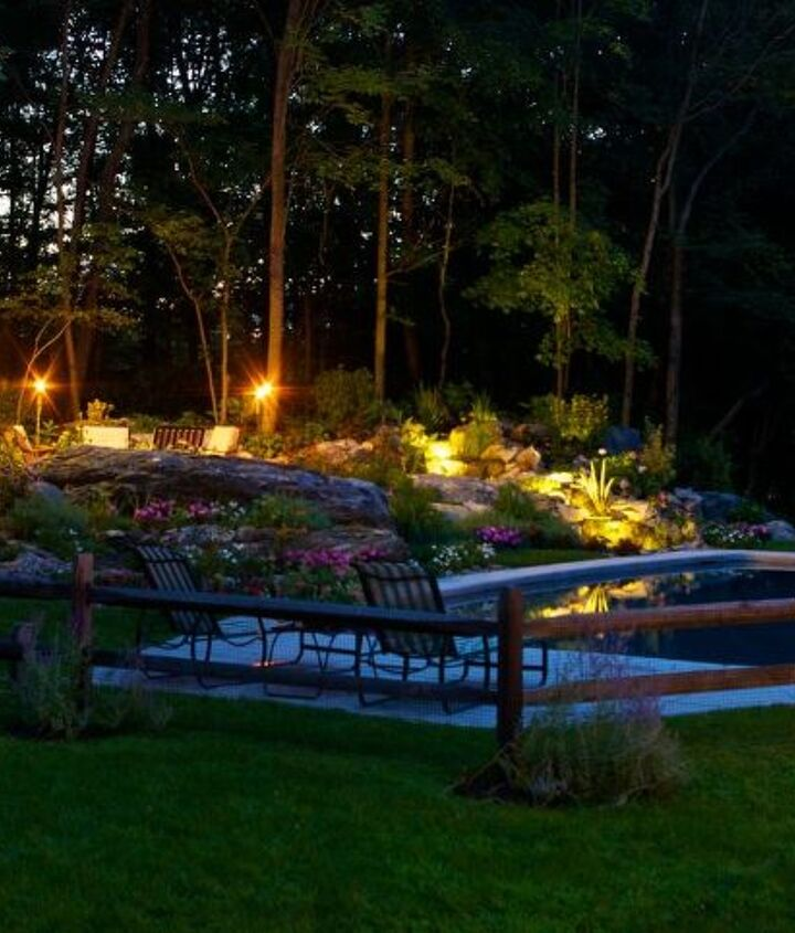 Nightime comes alive with Tiki torches