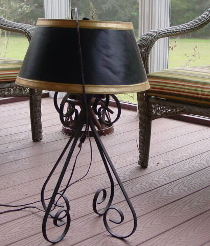 This old lamp has been around a long time, and I think it is time to give it a new life.