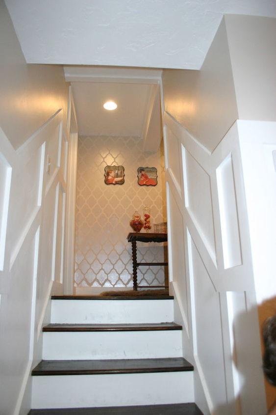Lighting Basement Washroom Stairs: A Basement Update Tour...