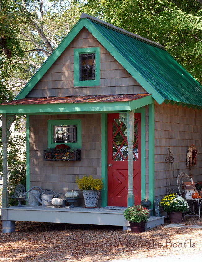 potting shed fall dressing hometalk