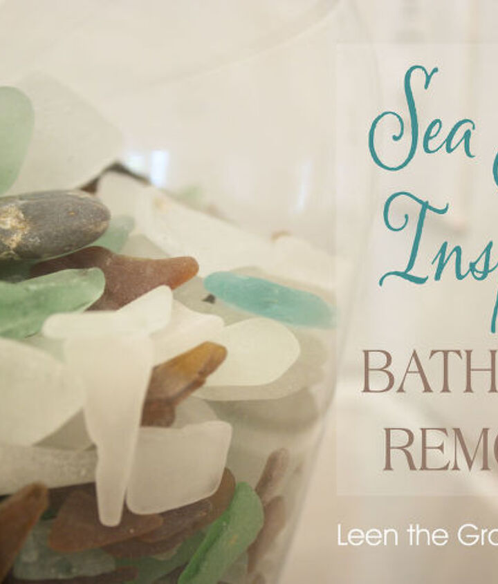 sea glass inspired bathroom remodel