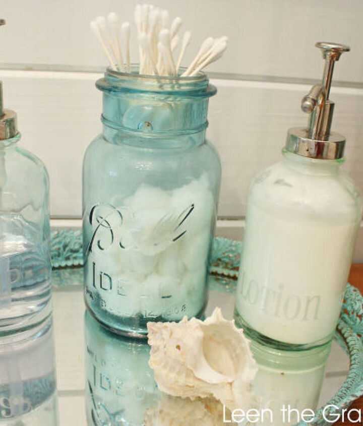 our sea glass inspired beach bathroom remodel, bathroom ideas, home decor