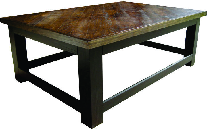re purposed oak flooring converted into coffee tables and end tables, painted furniture, repurposing upcycling, woodworking projects