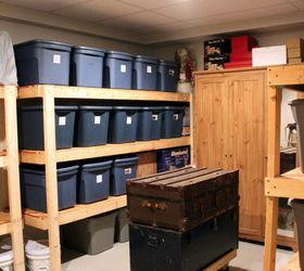 easy storage idea hometalk rh hometalk com Storage Room Plans Living Room Storage