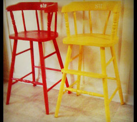 Toddler Chair Makeover
