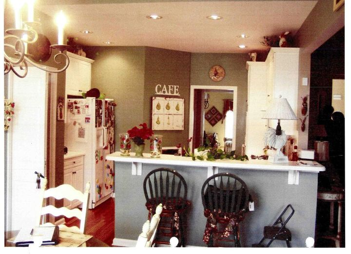 classical nuance alpharetta kitchen remodel before amp after, home decor, home improvement, kitchen design, Ill conceived storage space and an obtrusive peninsula holding the sink and dishwasher kept traffic in the kitchen at an absolute standstill