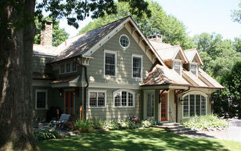 Cape Cod Renovated into Craftsman Style Home