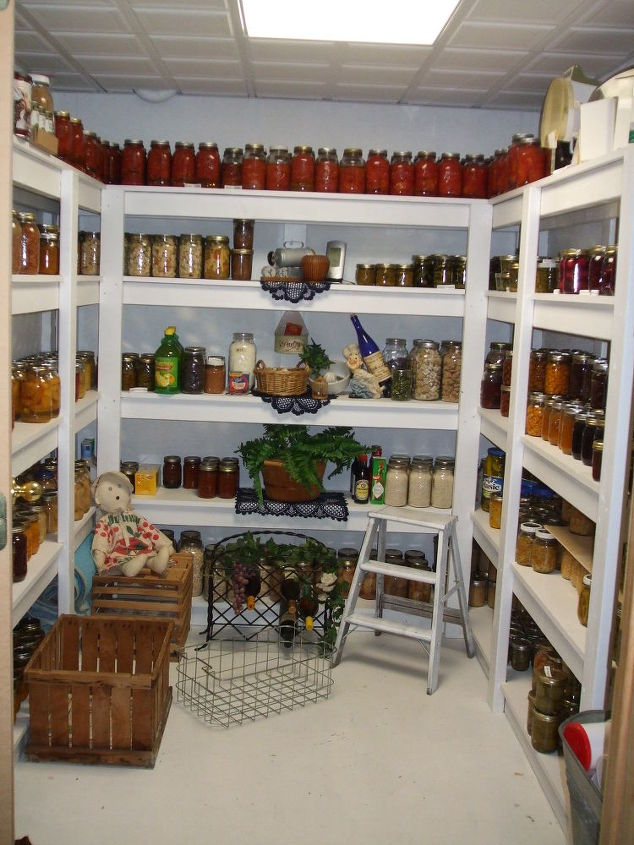 diy home canned organization, closet, organizing, Our Pantry