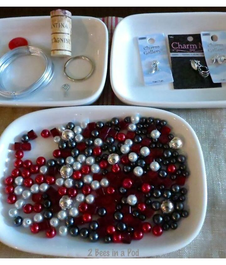 crafts wine bottle charms, crafts, repurposing upcycling