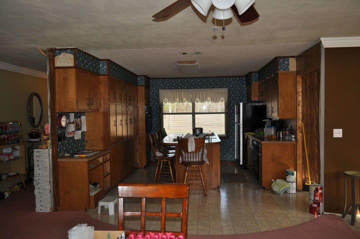 budget kitchen redo, home improvement, kitchen cabinets, kitchen design
