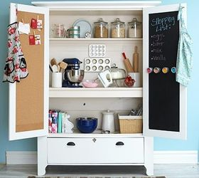 Upcycle That Old Armoire Let It Spice Up Your Kitchen, Chalkboard Paint,  Kitchen Design