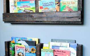 how to make a pallet bookshelf, pallet, storage ideas