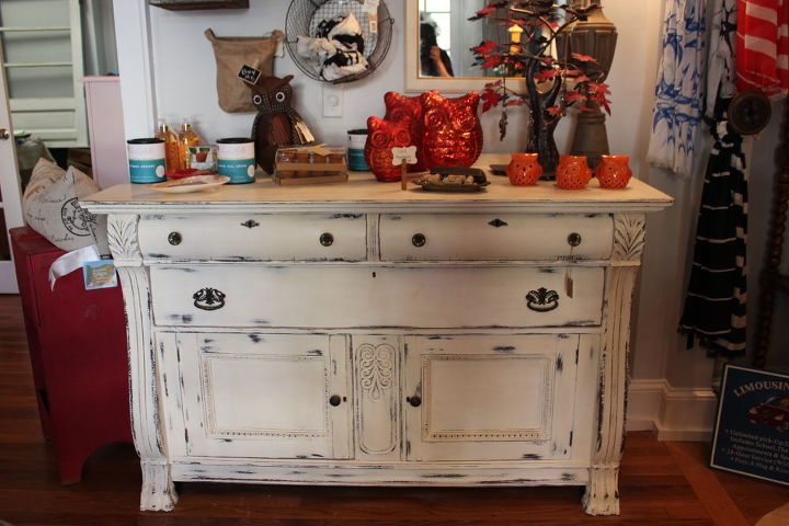 Vintage buffet chalk paint chalk paint furniture hometalk - Furnitur photos ...