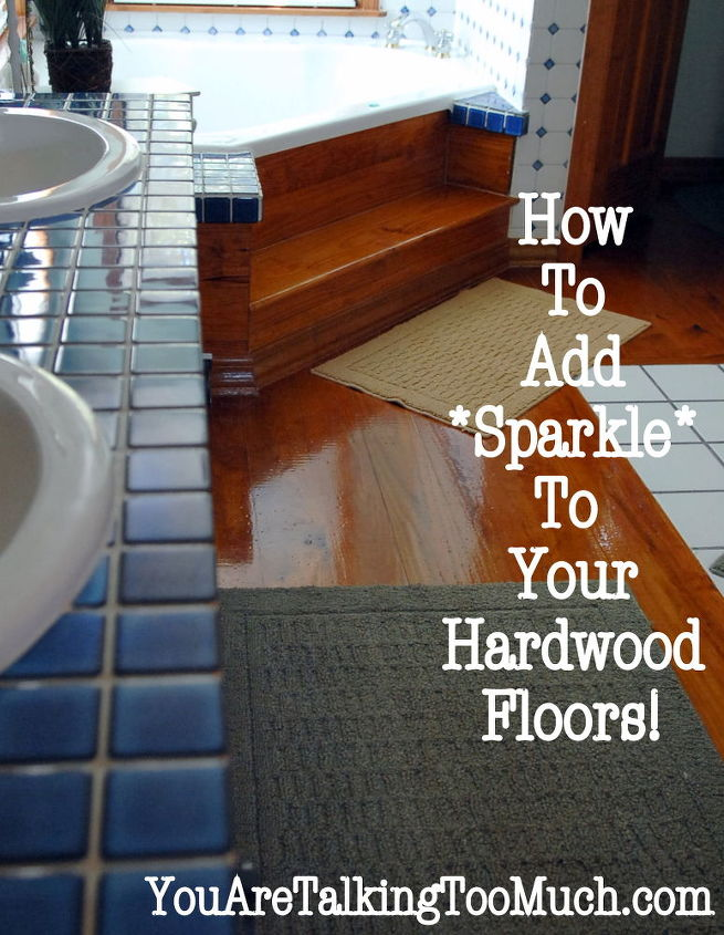 Don't believe me? My floors are over 17 years old and have never been re-touched. Trust me.....it works.  http://youaretalkingtoomuch.com/2012/10/quick-and-easy-way-to-make-ceramic-tile-and-hardwood-sparkle-and-shine/