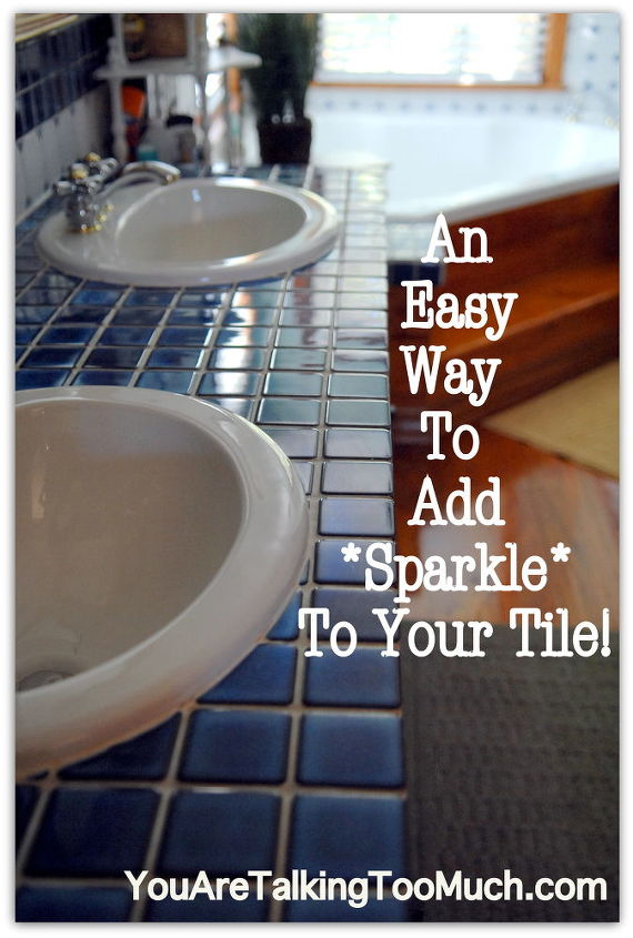 """I have always used Windex for a quick """"sparkle"""" and always get compliments. Read the post to know the details! http://youaretalkingtoomuch.com/2012/10/quick-and-easy-way-to-make-ceramic-tile-and-hardwood-sparkle-and-shine/"""