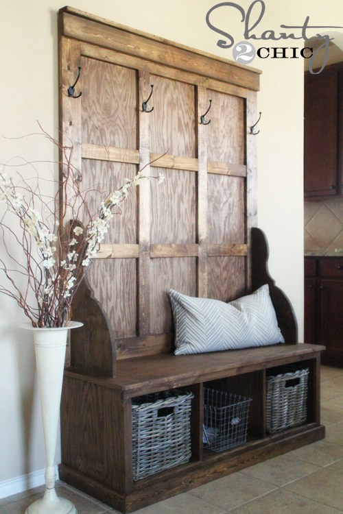 Favorite Shanty Hall Tree Bench For The Entryway Hometalk Iy17