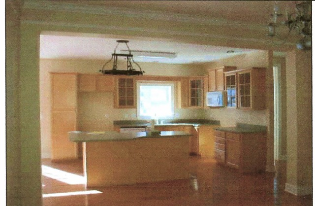 how i grew my upper kitchen cabinets, kitchen cabinets, kitchen design, Before kitchen