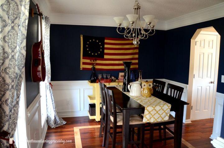 Dining Room Ideas Americana Decor Home Wall
