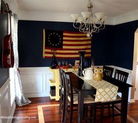 Dining Room Ideas Americana Decor, Dining Room Ideas, Home Decor, Wall Decor