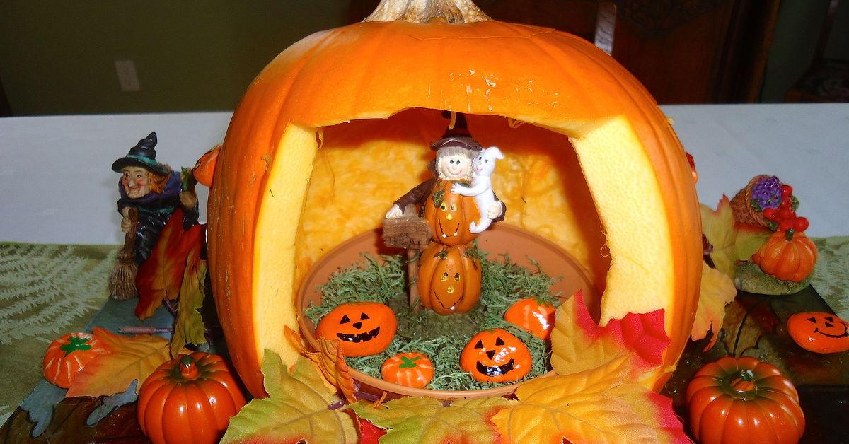 Creating A Halloween Pumpkin House Hometalk