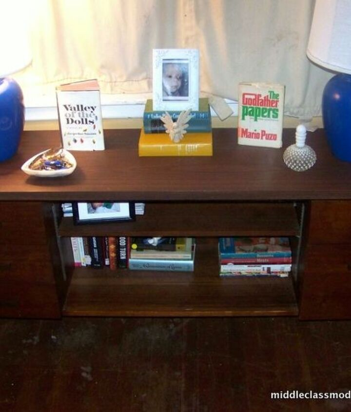Our living room credenza needs a reboot. What would you do with it?