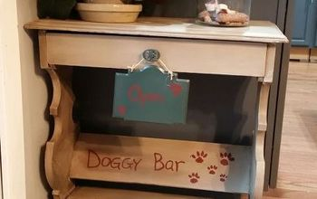 From UGLY Magazine Table to Fabulous Doggy Bar