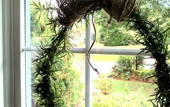 Make a Fresh Rosemary Wreath!