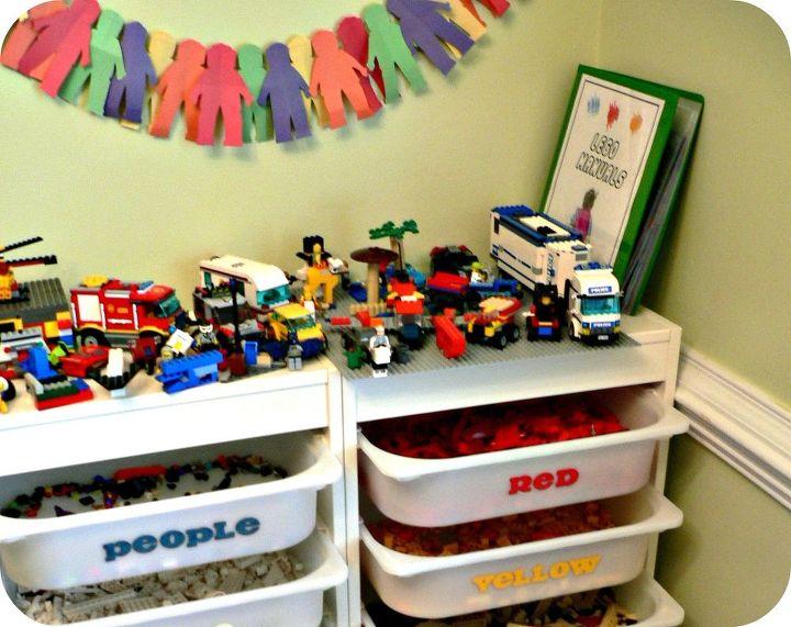 the ultimate lego storage, cleaning tips, organizing, storage ideas, Ikea Trofast