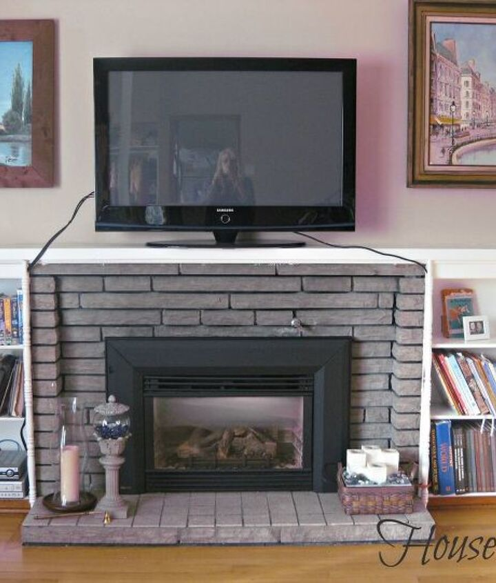 My fireplace in question