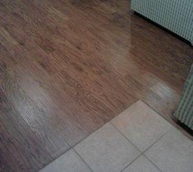 Laminate Tiles Flooring Part - 37: How To Eliminate The Toe Kicker When Laminate Or Engineered Flooring Meets  Ceramic, Flooring,