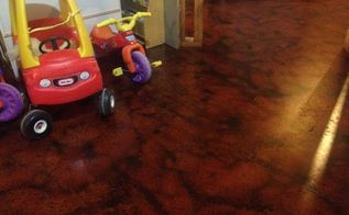 basement flooring options, flooring, go green, painting, I really wanted these toys to be in the photo You can see just how nice this floodproof basement flooring solution can turn out