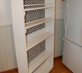 Diy Space Saving Rolling Kitchen Pantry, Closet, Diy, Kitchen Design,  Organizing,
