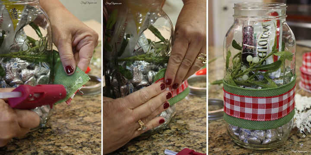 Mason Jar Gift: Christmas Kiss Kit | Hometalk