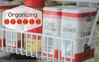 organized spice rack, organizing, storage ideas