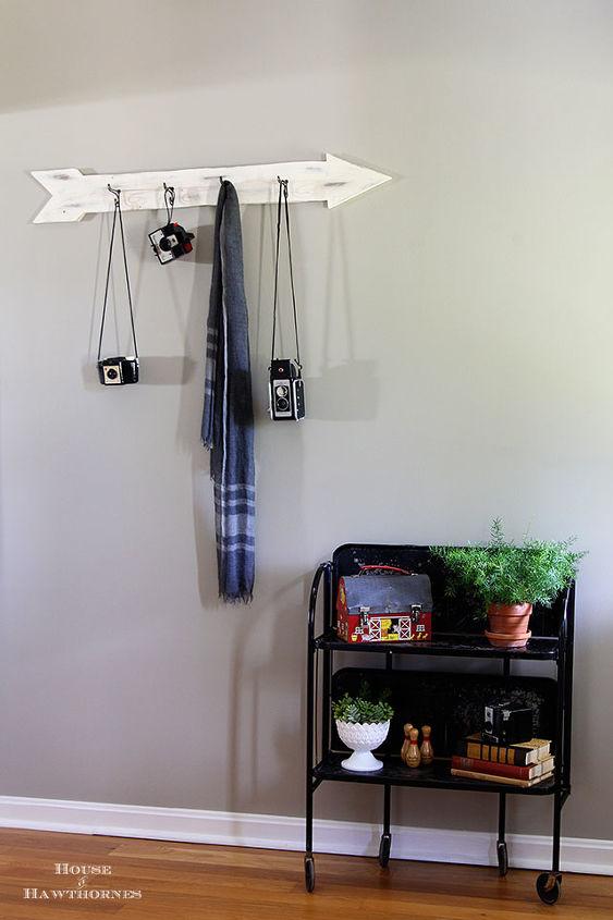 non traditional entryway set up, foyer, home decor, repurposing upcycling, shelving ideas, wall decor