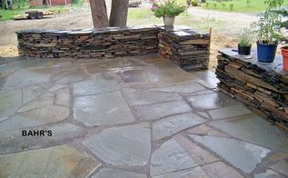 stonewalls patios pavers, landscape, outdoor living, patio, blue stone flagging and stone walls