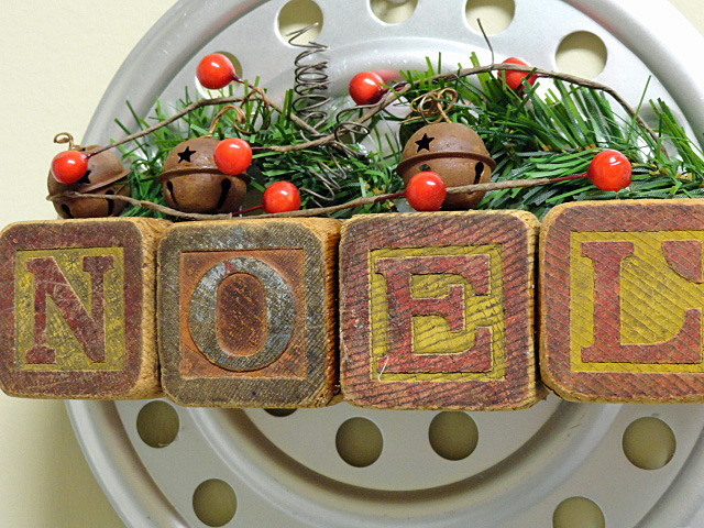 a vintage industrial christmas wall hanging christmas decorations crafts seasonal holiday decor