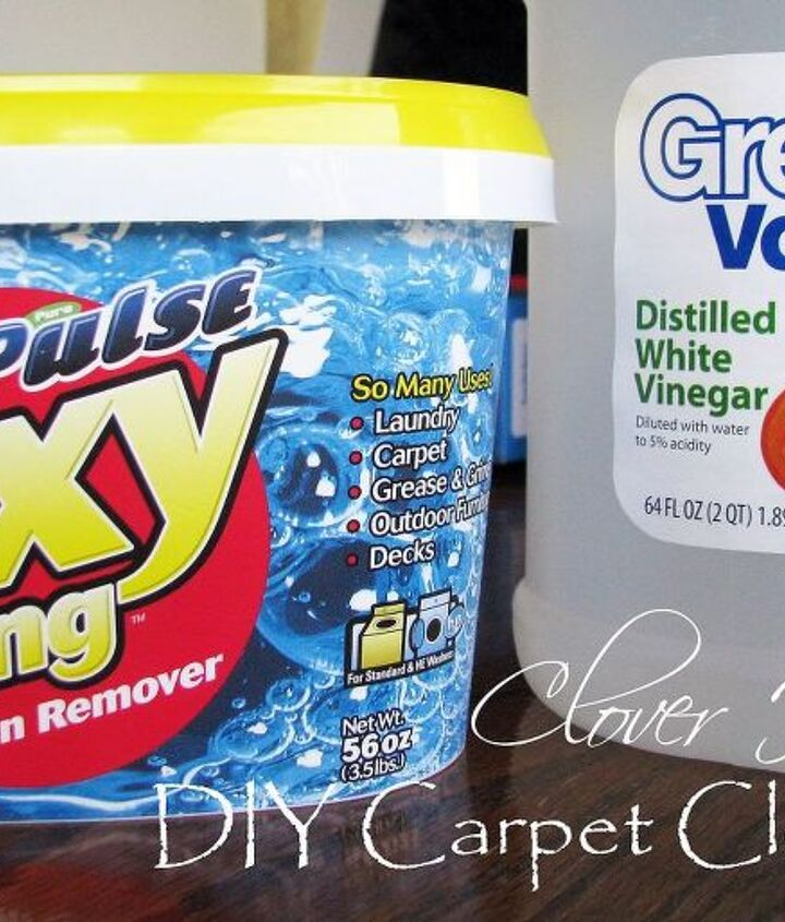 Oxy Clean, vinegar and warm water is all we used.
