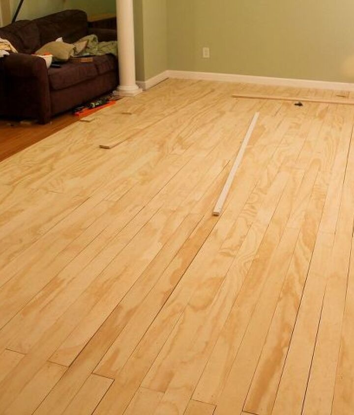 laying plywood floors, flooring, woodworking projects