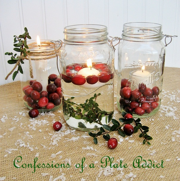 fun and easy christmas mason jar candles christmas decorations seasonal holiday decor i