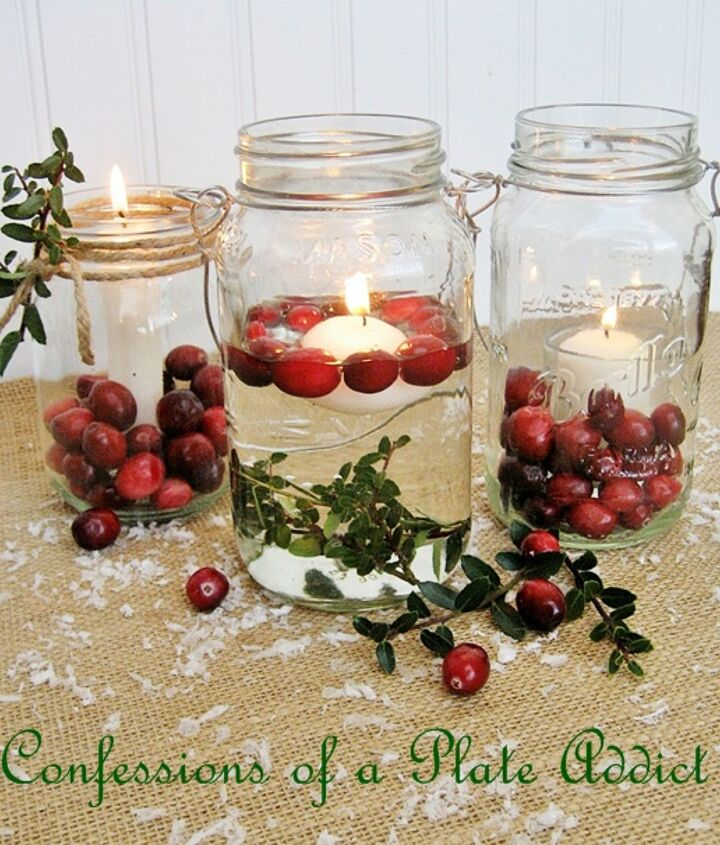 fun and easy christmas mason jar candles, christmas decorations, seasonal holiday decor, I created three different versions for you to try See the individual photos for the details