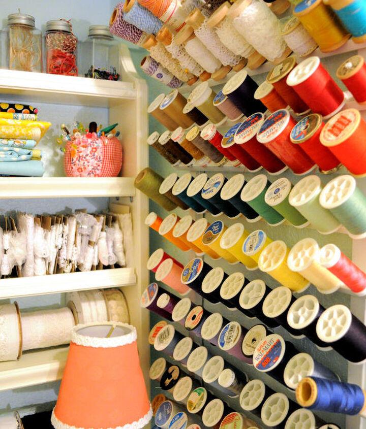 craft space room decor ideas storage, craft rooms, organizing, storage ideas