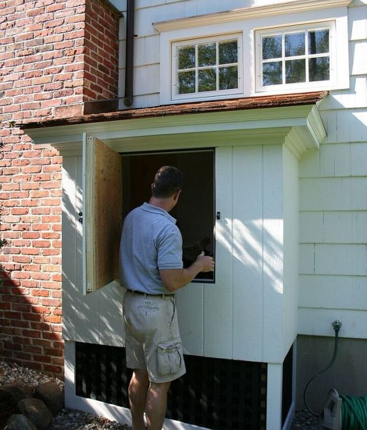 Insulated wood shed for logs - Titus Built, LLC