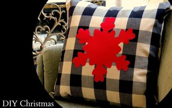 DIY Christmas/Holiday Pillow