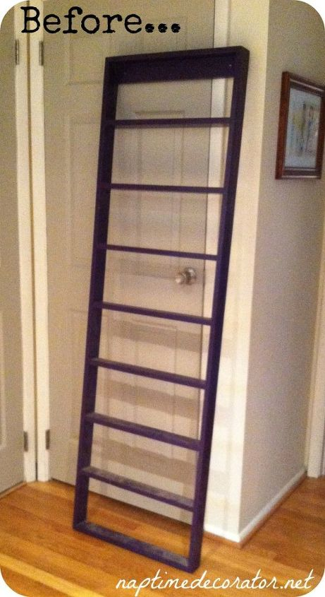 How To Turn A Ladder Into Kids Bookcase