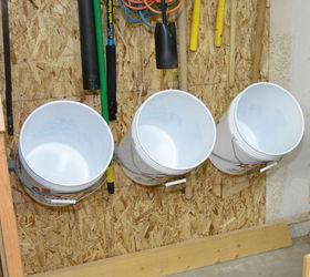 Installing A Bucket Storage Rack For Garage, Garages, Storage Ideas,  Woodworking Projects