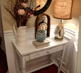 Diy Shabby Chic Foyer Table Distressing Tutorial, Home Decor, Painted  Furniture, Shabby Chic Jessica
