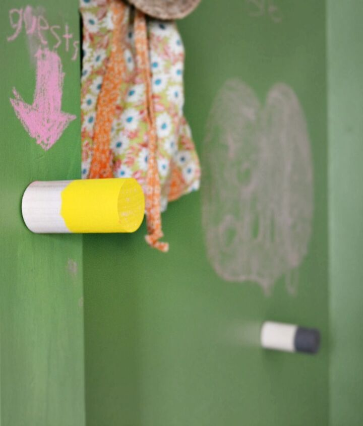 diy paint dipped wooden coat hooks, crafts, painting