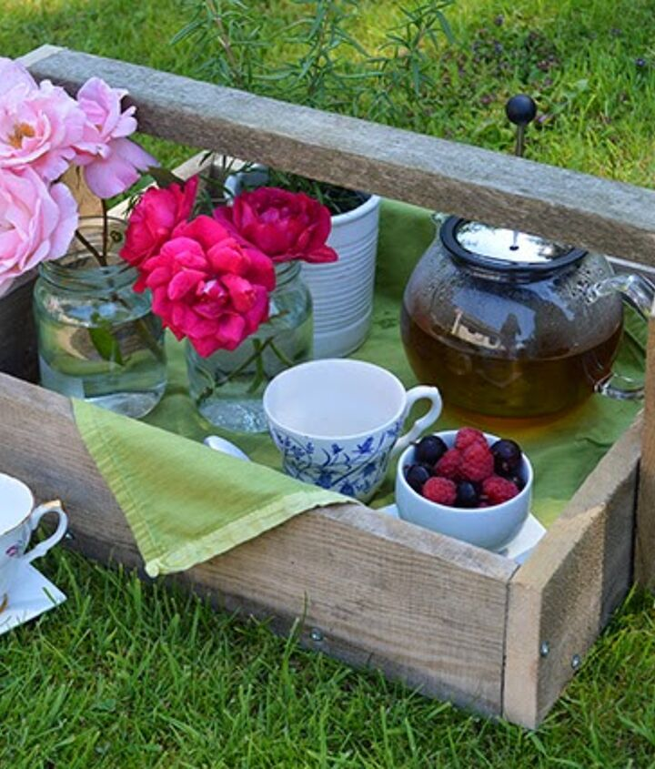 Perfect for a country chic tea party